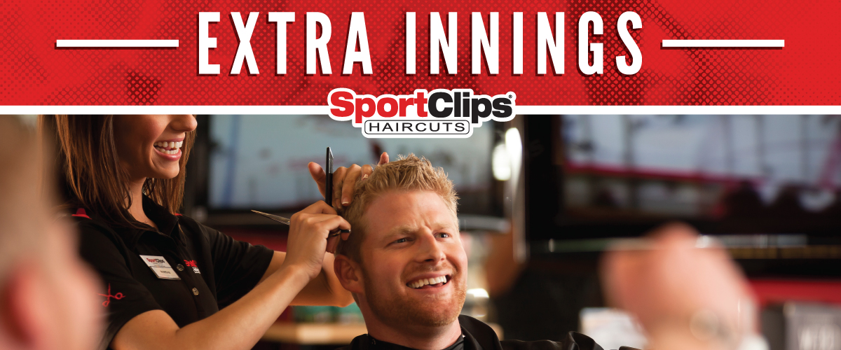 The Sport Clips Haircuts of Moline Extra Innings Offerings